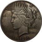 1 Pcs 1924 Peace Dollar COIN COPY