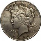 1 Pcs 1922-S Peace Dollar COIN COPY