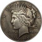1 Pcs 1922-P Peace Dollar COIN COPY