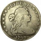 1 Pcs 1799 Draped Bust Dollar COIN COPY