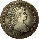 1 Pcs 1796 Draped Bust Dollar COIN COPY
