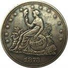 1 Pcs 1873 Trade Dollar coins copy