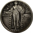 1 Pcs 1917-S Standing Liberty Quarter COIN COPY
