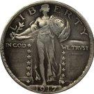 1 Pcs 1917 Standing Liberty Quarter COIN COPY
