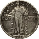 1 Pcs 1926 Standing Liberty Quarter COIN COPY