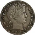 1 Pcs 1912-S QUARTER DOLLARS BARBER COINS COPY