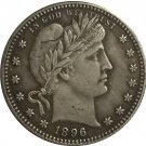 1 Pcs 1896-O QUARTER DOLLARS BARBER COINS COPY