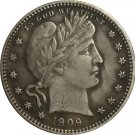 1 Pcs 1909-S QUARTER DOLLARS BARBER COINS COPY