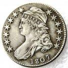 1 Pcs 1807 Capped Bust Half Dollars Copy Coins