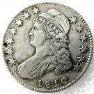 1 Pcs 1810 Capped Bust Half Dollars Copy Coins