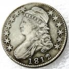 1 Pcs 1812 Capped Bust Half Dollars Copy Coins