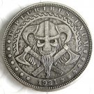 US Hobo 1921 Morgan Dollar With Cattle And Axe Hand Carved Creative Copy Coins