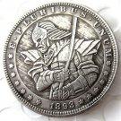 US Hobo 1893 Morgan Dollar In Soldier Copy Coins