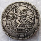 US 1921 Morgan Dollar With The Woman At War Hand Carved Copy Coins