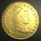 1803 US Truban Head $10 Gold Eagle and Shield Reverse Copy Coin