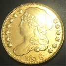 1818 US Capped Bust $5 Gold Plated Dollar Coin Copy