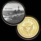 USS Gyatt DD-712/DDG-1 Challenge Coin For Collection