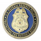 U.S. Offficer Federal Reserve Police-FRP Gold Plated Challenge Copy Coin For Collection