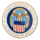 US. Defense Logistics Agency Gold Plated Challenge Copy Coin For Collection