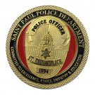 US Military Saint Paul Police Department Gold Plated Challenge Copy Coin For Collection