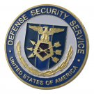 United States Defense Security Service/DSS Gold Plated Challenge Copy Coin For Collection