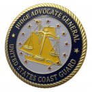 US Coast Cuard JAG Gold Plated Challenge Coin For Collection