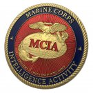 Marine Corps Intelligence Activity MCIA Gold Plated Challenge Coin For Collection