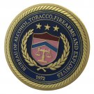 United States Bureau of Alcohol Tobacco Firearms and Explosives ATF Challenge Coin For Collection