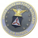 USAF AUXILIARY CIVIL AIR PATROL Gold Plated Challenge Coin For Collection