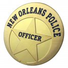 US New Orleans Police Department Gold Plated Challenge Coin For Collection