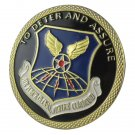 USAF Air Force Global Strike Command To Deter and Assure Gold Plated Challenge Coin