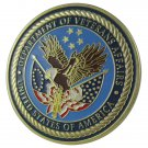 United States Military Department of Veterans Affairs Gold Plated Challenge Coin