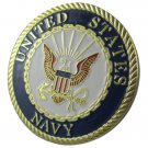 US Miltary United States Navy Gold Plated Challenge Coin