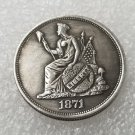 1 Pcs US 1871 Seated Liberty Standard 50 Cent Copy Coin