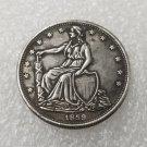 1 Pcs US 1859 Paquet Seated Liberty Half Dollar Copy Coin