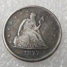 1 Pcs US 1877 Seated Liberty Twenty Cent Copy Coin