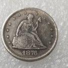 1 Pcs US 1876 Seated Liberty Twenty Cent Copy Coin