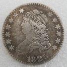 1 Pcs US 1825 Capped Bust 25 Cent Copy Coin