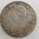 1 Pcs US 1821 Capped Bust 25 Cent Copy Coin