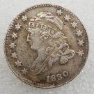 1 Pcs US 1830 Capped Bust 10 Cent Copy Coin
