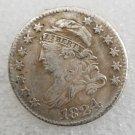 1 Pcs US 1824 Capped Bust 10 Cent Copy Coin