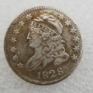 1 Pcs US 1828 Capped Bust 10 Cent Copy Coin