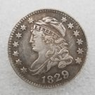 1 Pcs US 1829 Capped Bust 10 Cent Copy Coin