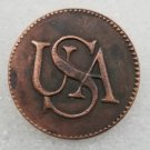 1 Pcs USA Copper Copy Coin For Collection