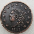 1 Pcs US 1828 Braided Hair One Cent Copper Copy Coin