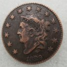1 Pcs US 1829 Braided Hair One Cent Copper Copy Coin