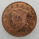 1 Pcs US 1825 Braided Hair One Cent Copper Copy Coin