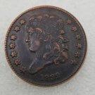 1 Pcs US 1832 Capped Bust Half Cent Copper Copy Coin