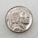 1 Pcs US 1918-D Indian Head Buffalo Five Cents Nickel Copy Coin