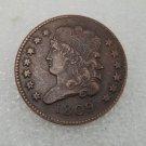1 Pcs US 1809 Capped Bust Half Cent Copper Copy Coin